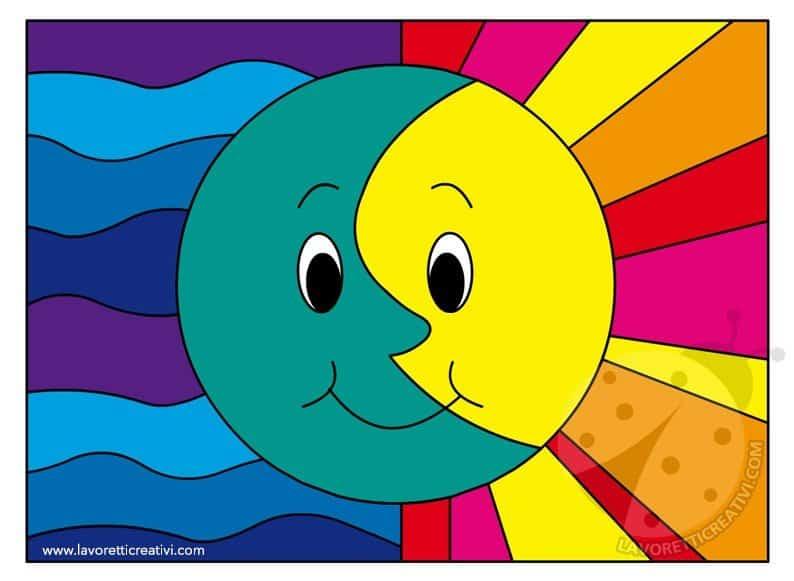 attivit didattica colori caldi e colori freddi