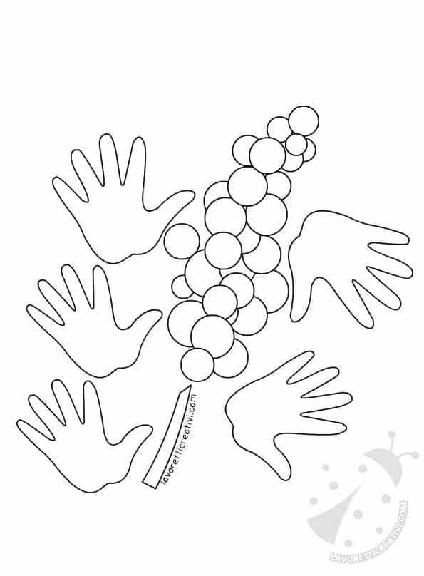 Festa Della Donna Mimosa Con Sagome Mani Lavoretti Creativi