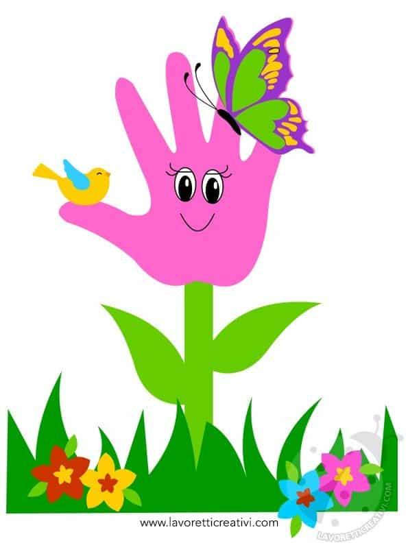 Idea Biglietto Festa della Mamma con fiore