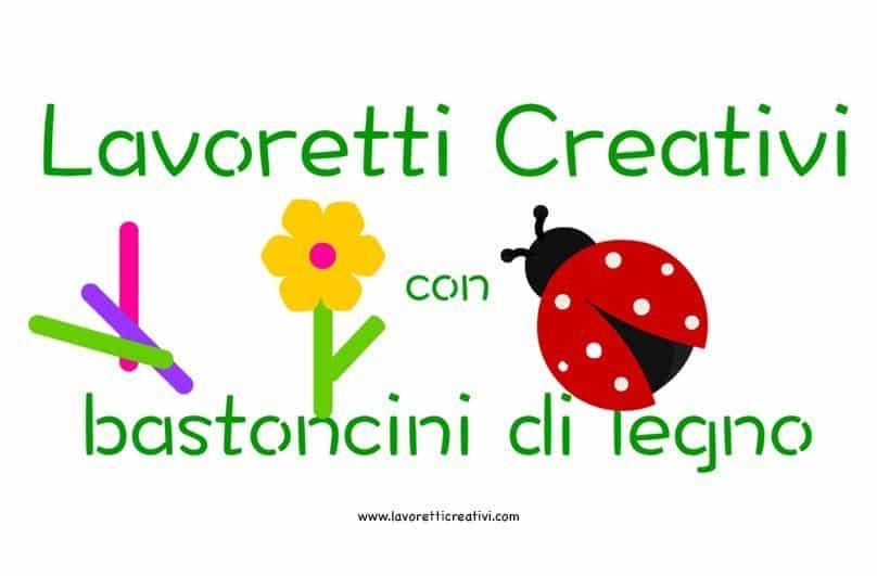 Lavoretti creativi per bambini con bastoncini di legno for Lavoretti creativi accoglienza