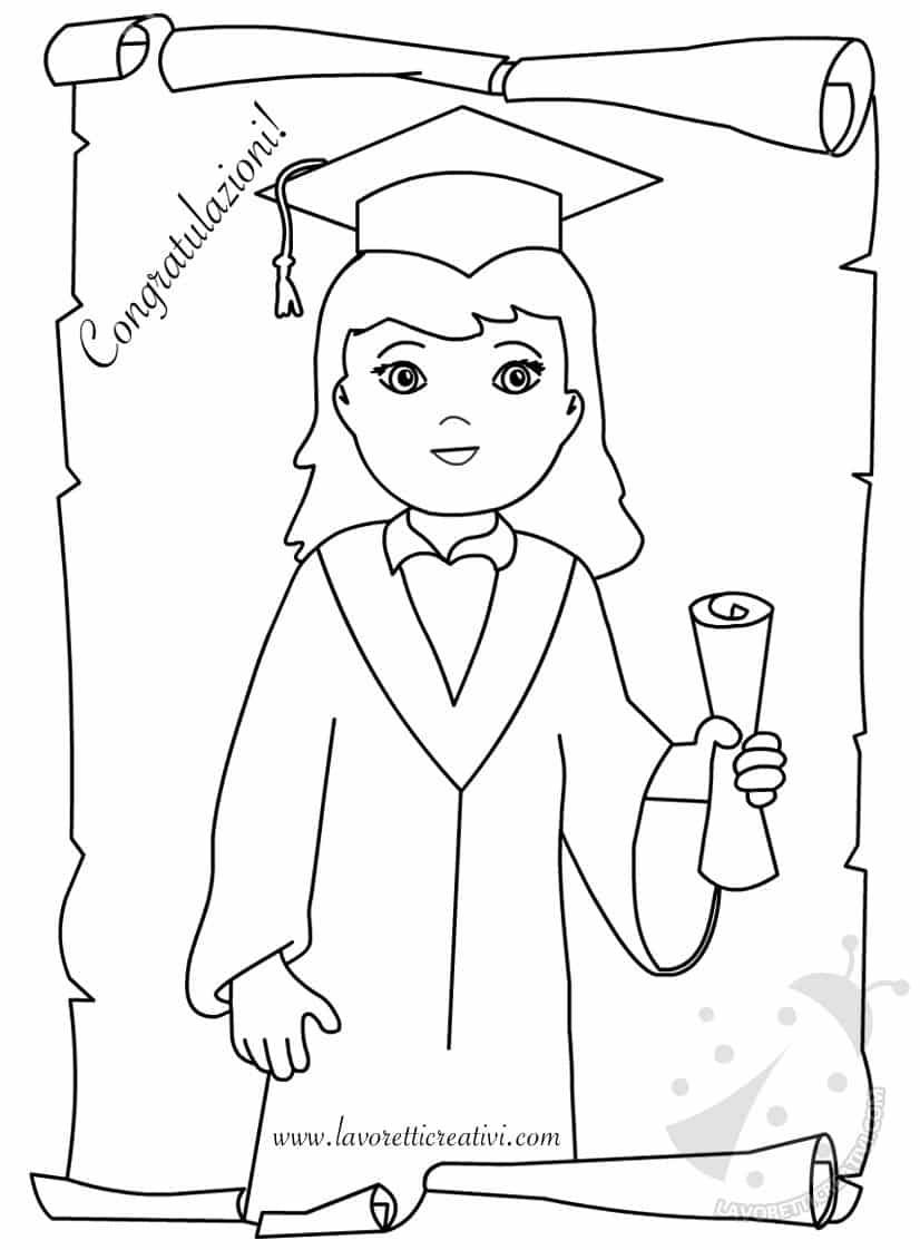 Fine Scuola Primaria Diplomi Per Bambine Da Stampare Lavoretti