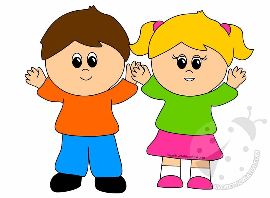 Immagini di bambini che salutano scuola infanzia - Immagini da colorare la spiaggia ...