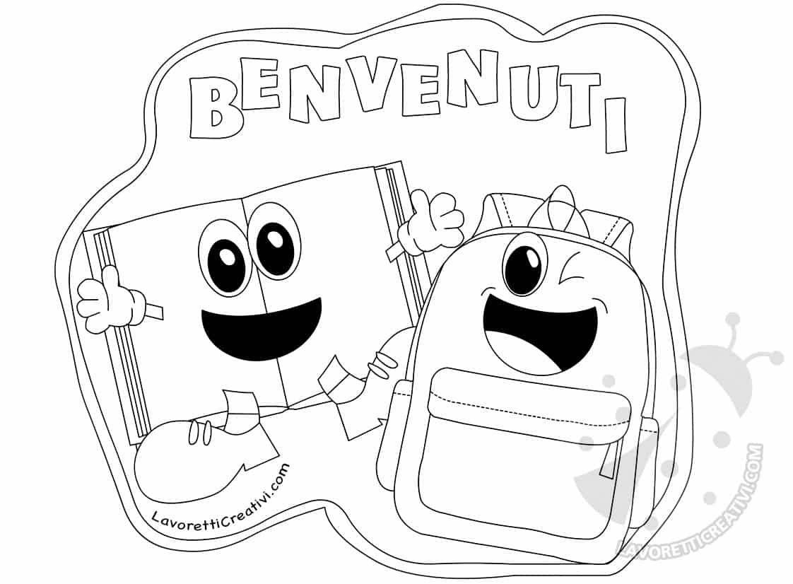 Risorse per l'accoglienza degli alunni Cartello di Benvenuto