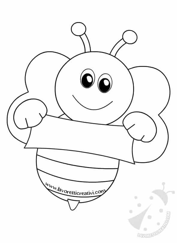 Cartellone accoglienza scuola infanzia con albero e api for Lavoretti accoglienza infanzia