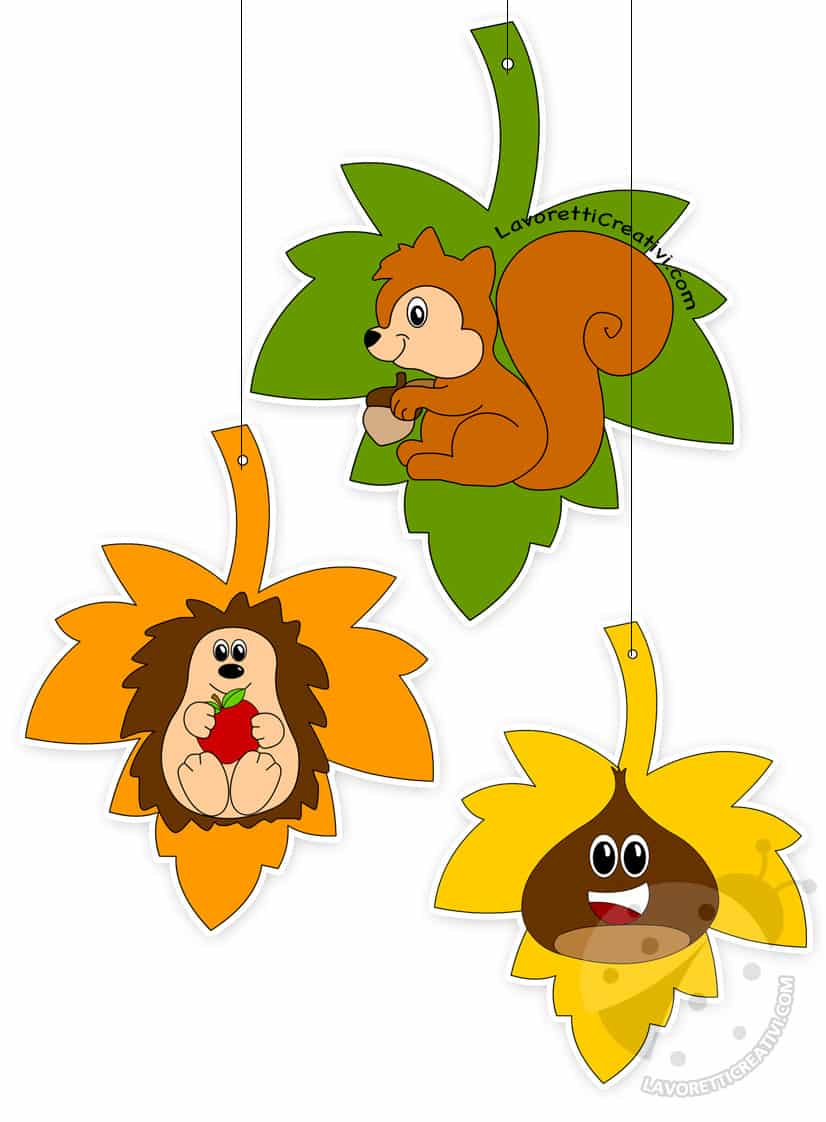 Addobbi e decorazioni autunno per aula scuola for Addobbi di natale per bambini scuola infanzia