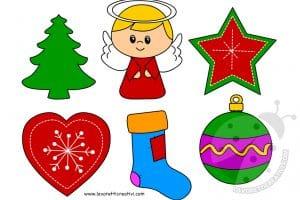 Cartamodelli Decorazioni Natalizie In Feltro.Cartamodelli Natale Lavoretti Creativi