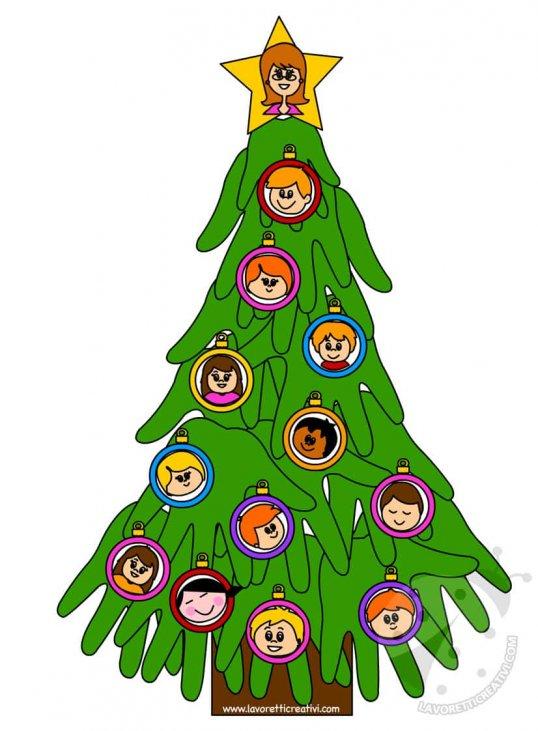 Lavoretti Di Natale Bambini Scuola Infanzia.Cartellone Di Natale Per Bambini Della Scuola Dell Infanzia