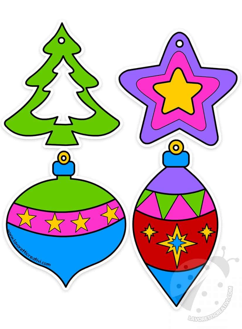 Decorare Finestre Per Natale Scuola 4 decorazioni natalizie di carta per bambini - lavoretti