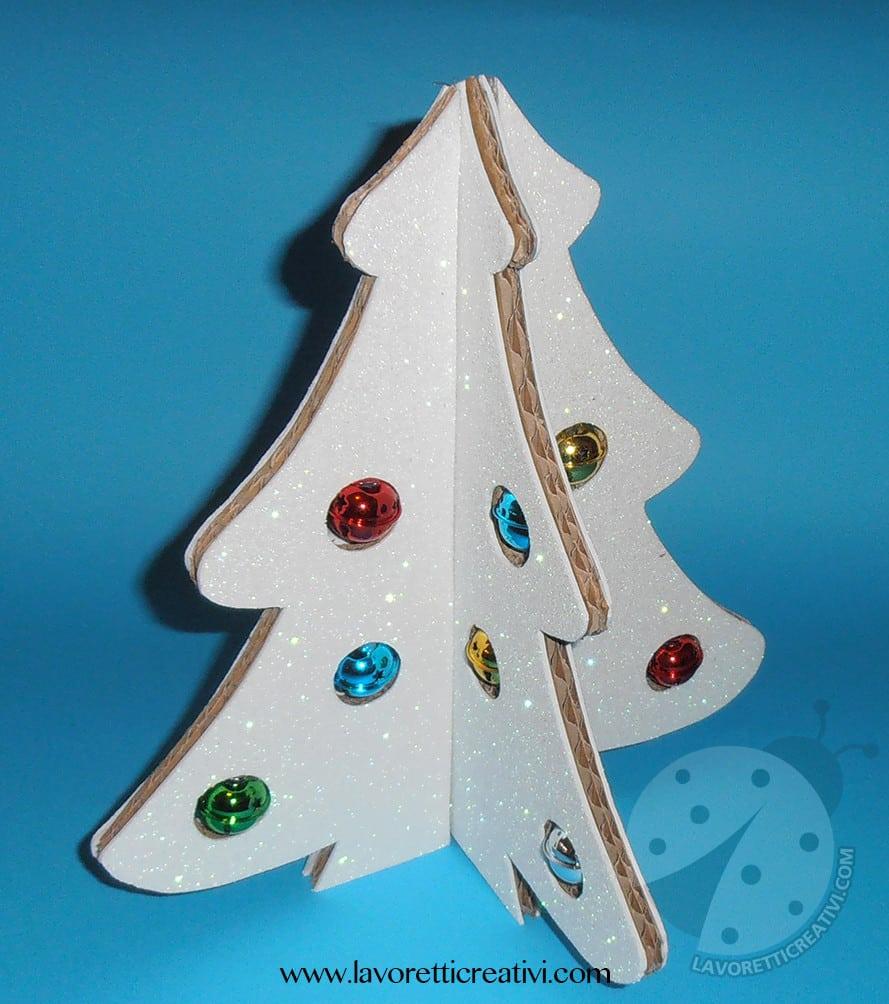 Lavoretti Di Natale 3d.Albero Di Natale 3d Con Cartone Riciclato Tutorial