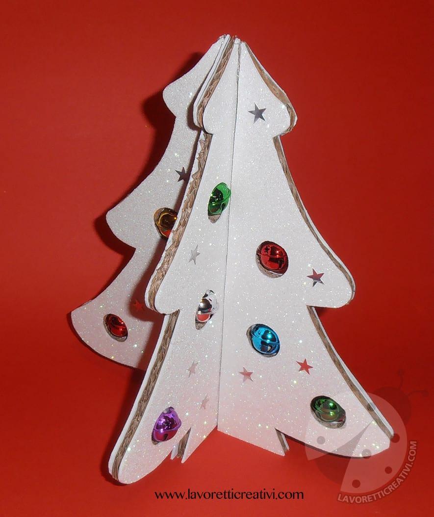 Tutor Lavoretti Di Natale.Albero Di Natale 3d Con Cartone Riciclato Tutorial Lavoretti Creativi