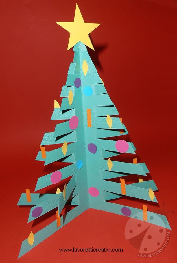 Lavoretti Di Natale 3d.Lavoretti Di Natale Per Bambini Albero Di Natale 3d