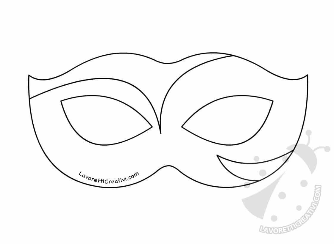 Disegni Di Maschere Di Carnevale Da Colorare.Maschere Di Carnevale Per Bambini Da Colorare E Ritagliare Lavoretti Creativi