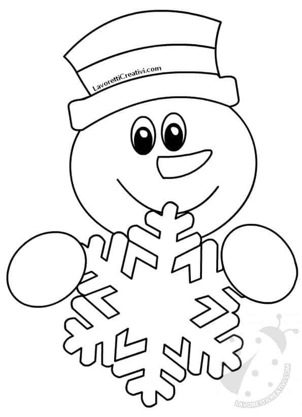 Decorazioni invernali per la scuola con pupazzi di neve for Decorazioni invernali per scuola