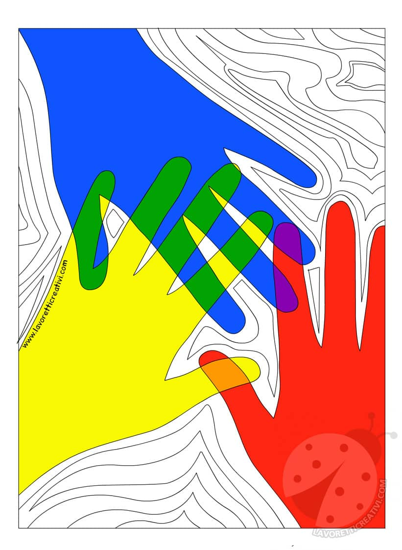 Idee sui colori primari e secondari Scuola primaria