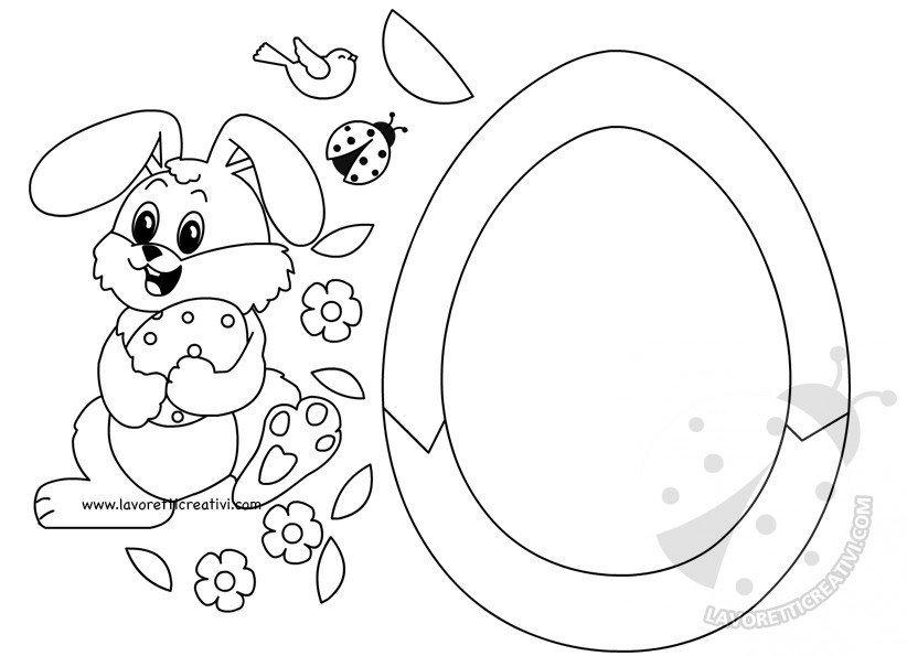 Sagoma Uovo Di Pasqua Da Ritagliare Best Segnalibri Di Pasqua Da