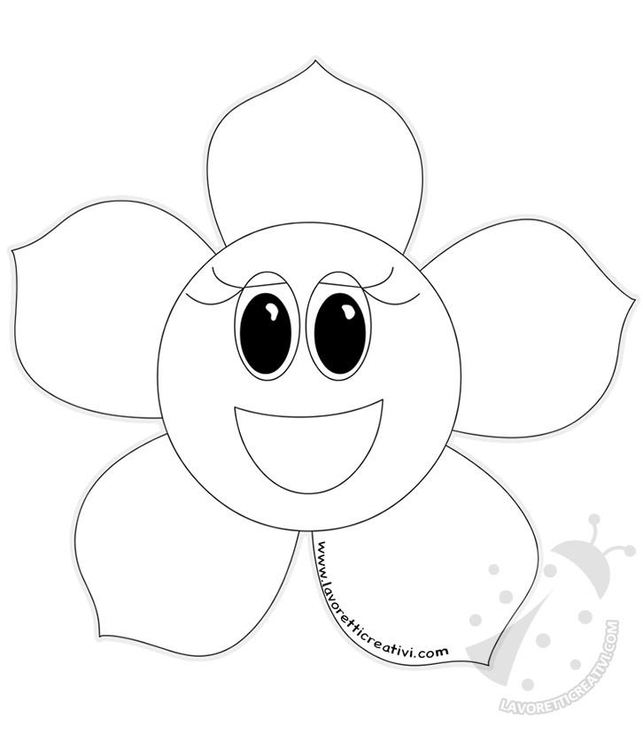 Disegni Di Fiori Di Primavera Per Bambini Da Colorare Lavoretti