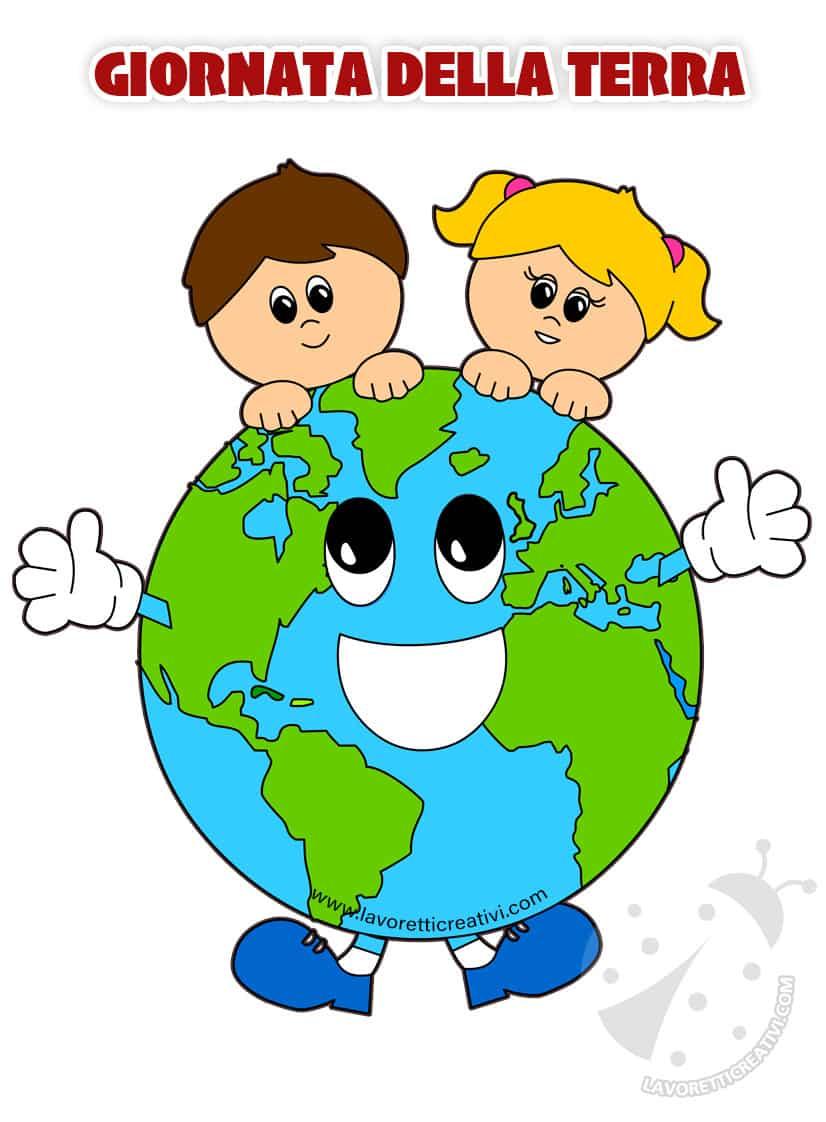 giornata della terra pianeta terra con i bambini