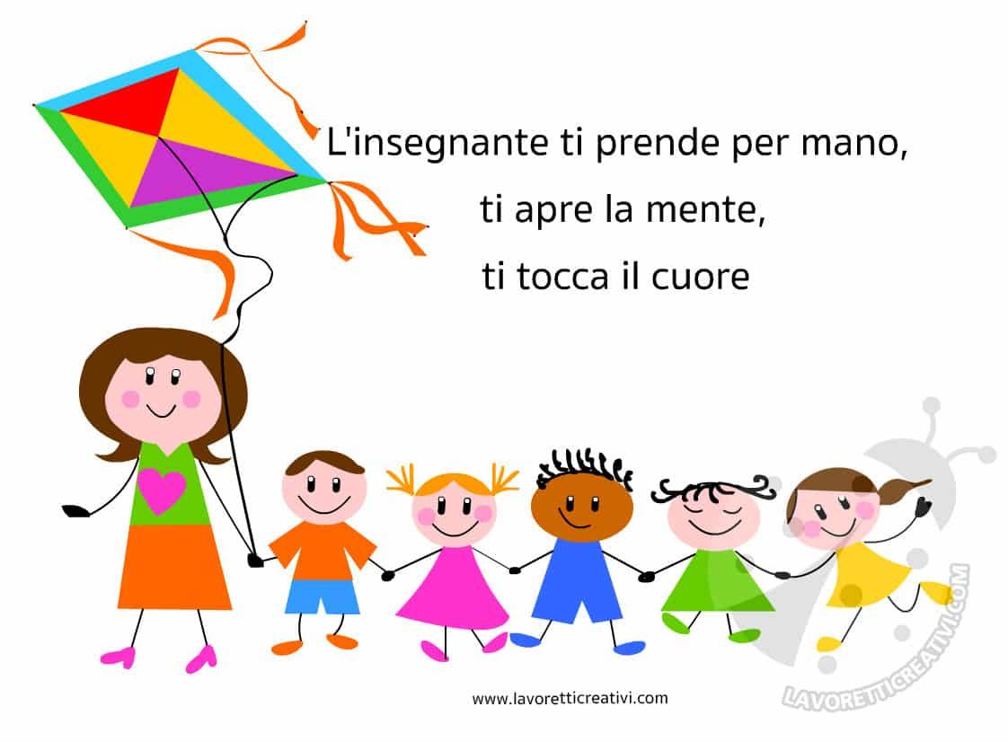 idee regalo per maestra scuola infanzia