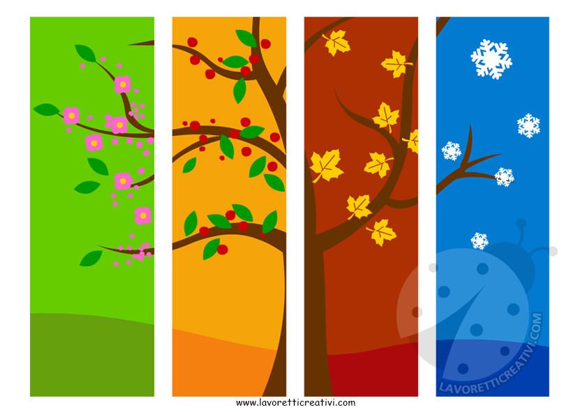 le quattro stagioni scuola primaria