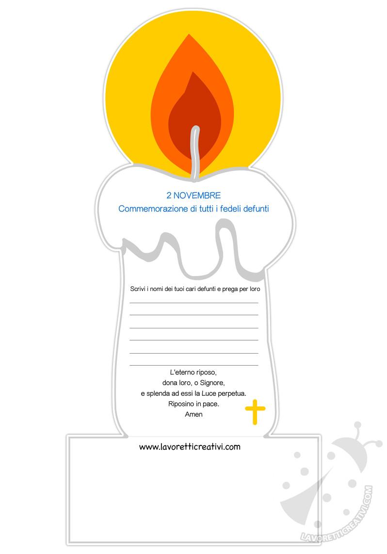 Commemorazione dei defunti per bambini