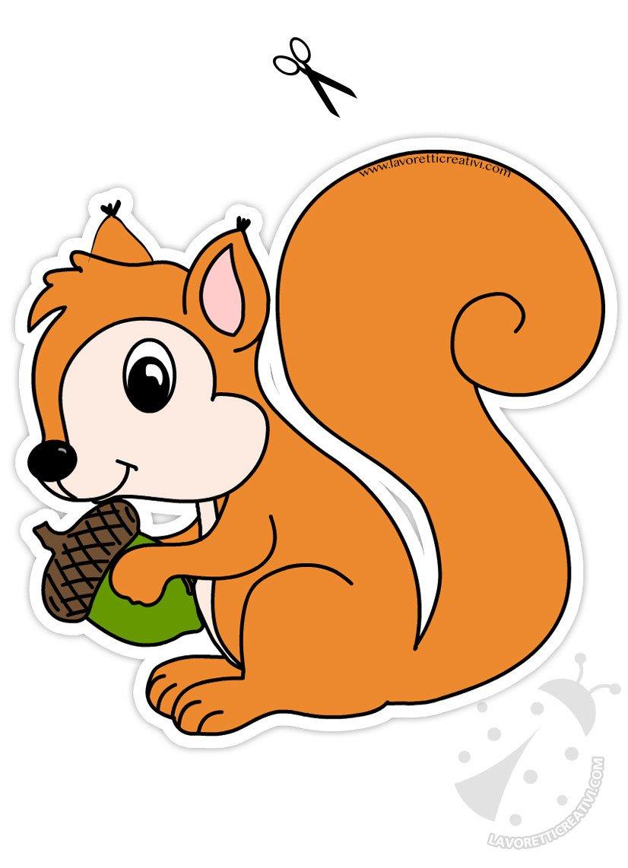 Addobbi autunnali per finestre scoiattolo con ghianda lavoretti creativi - Decorazioni autunnali per finestre ...