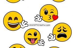 Emoticon Da Stampare Lavoretti Creativi