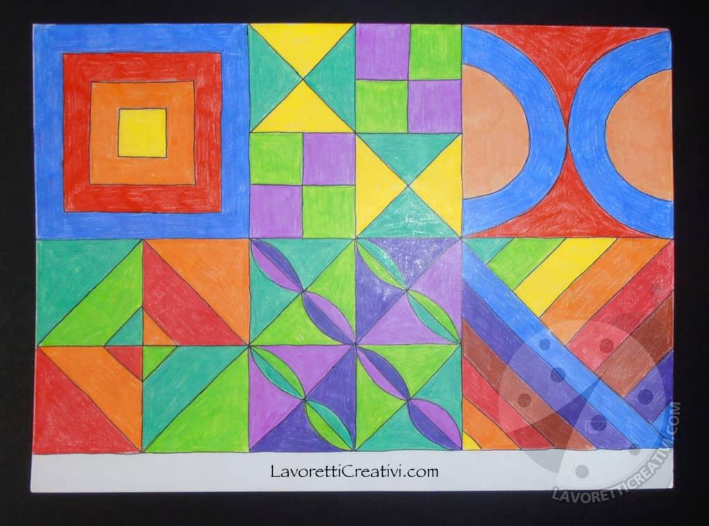 Composizione modulare Arte Scuola Primaria