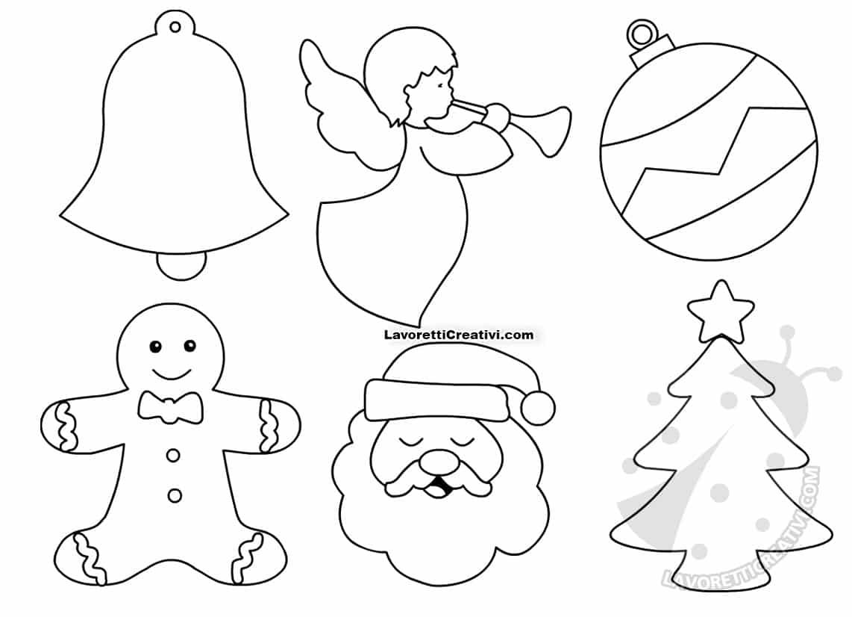 Pannolenci Lavoretti Di Natale.Cartamodelli Natalizi Per Addobbi In Pannolenci Lavoretti Creativi