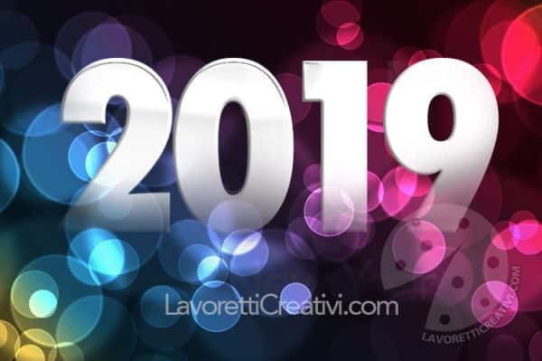 Cartoline Auguri Di Buon Anno 2019 Da Inviare Lavoretti