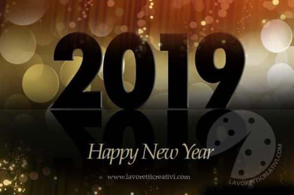 Cartoline Con Gli Auguri Di Buon Anno 2019 Lavoretti Creativi