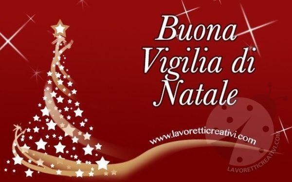 Cartoline Di Auguri Di Natale.Auguri Di Buona Vigilia Di Natale Immagini Da Inviare Lavoretti
