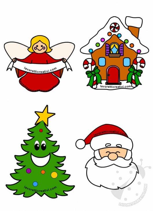 Immagini Natalizie Da Copiare.Disegni Di Natale Colorati Per Bambini Da Stampare