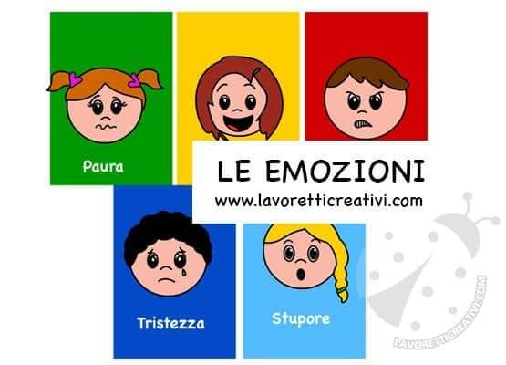 schede didattiche sulle emozioni