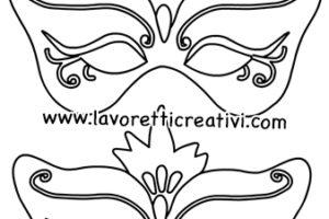 Maschere Principesse Lavoretti Creativi