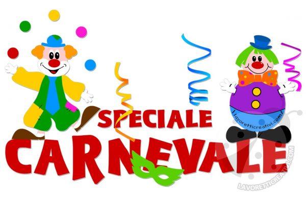Speciale carnevale addobbi e lavoretti per bambini for Maestra mary inverno addobbi