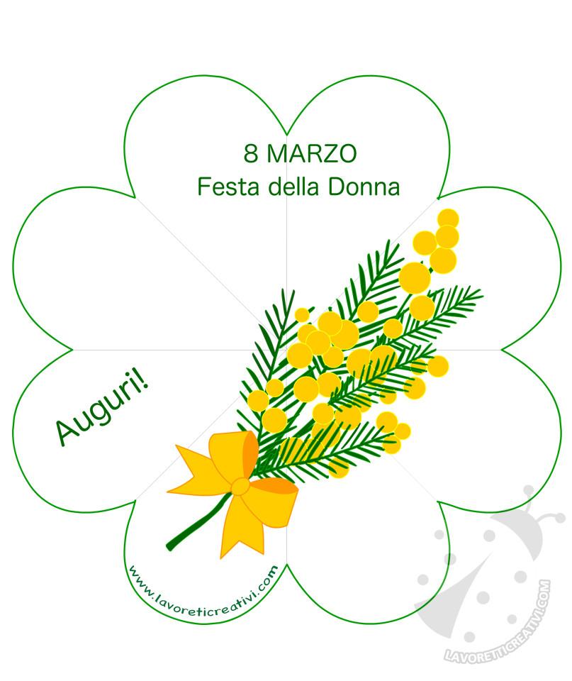 Biglietti di auguri per la Festa della Donna