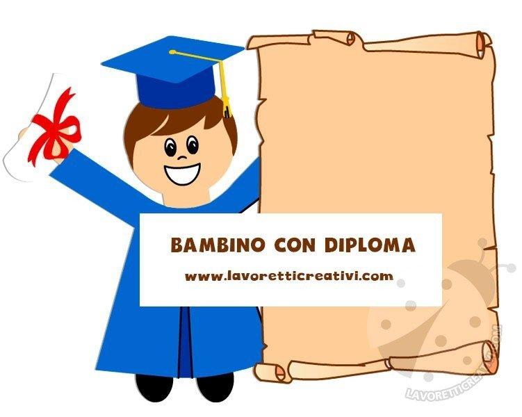 diploma bambino fine anno scolastico