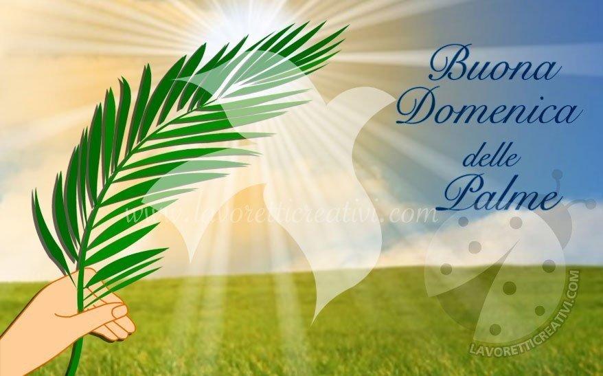 Buona Domenica delle Palme da inviare