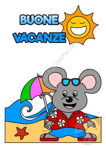 buone vacanze con topolino