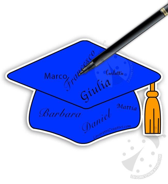 tocco laurea per autografi