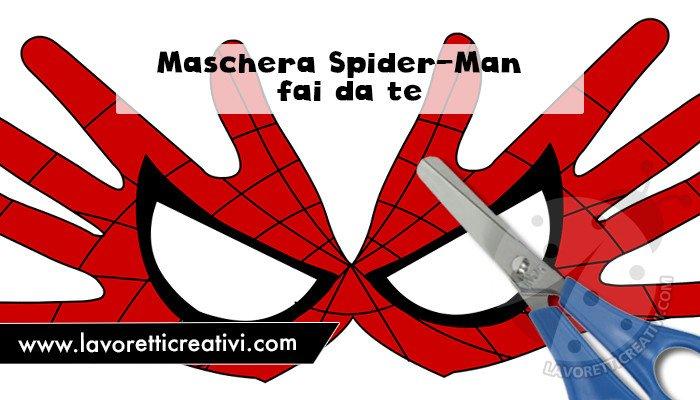 maschera uomo ragno