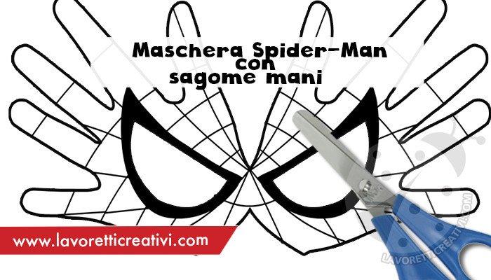 Maschera Spider-Man per bambini