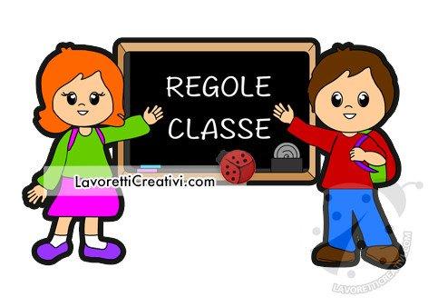 regole classe per bambini