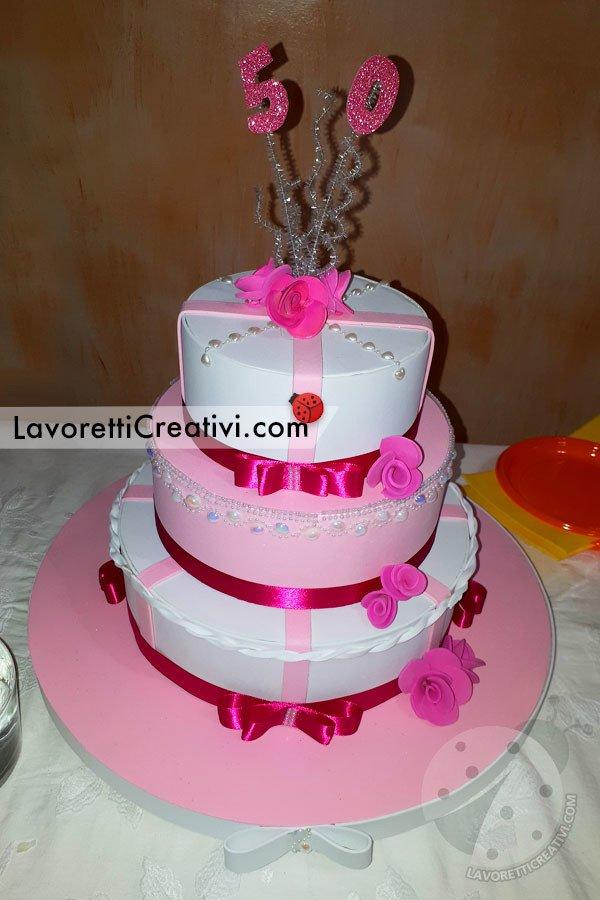 torta compleanno 50 anni
