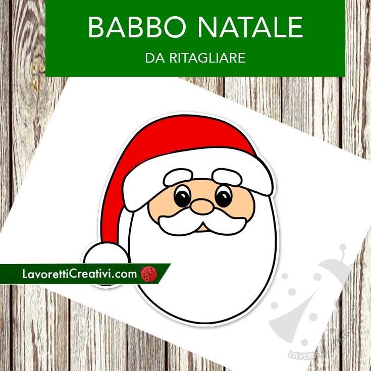 Bambini Babbo Natale Disegno.Decorazione Con Babbo Natale Per Bambini Lavoretti Creativi