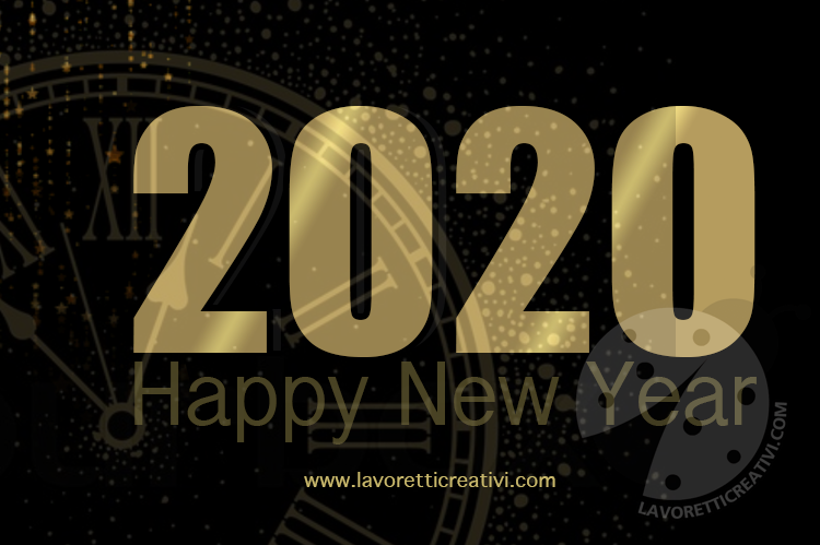Happy New Year 2020 gratis