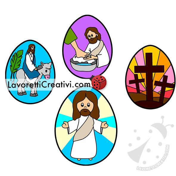 uova con settimana santa