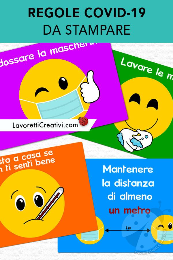 Regole Coronavirus con emoji