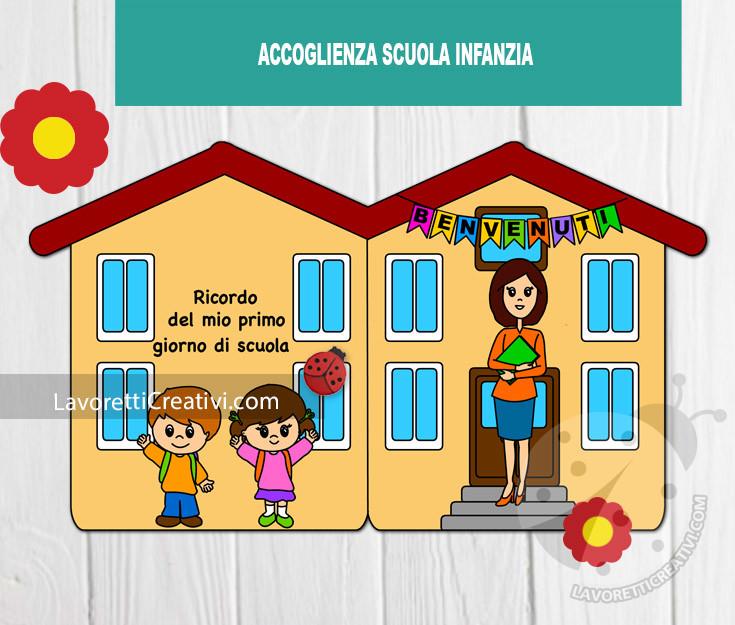 lavoretto accoglienza scuola infanzia