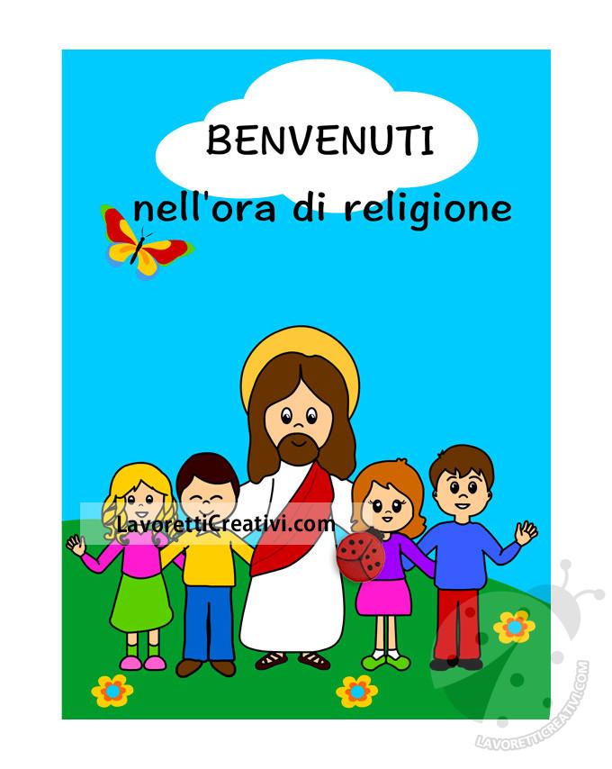 Accoglienza ora di religione - Gesù con i bambini